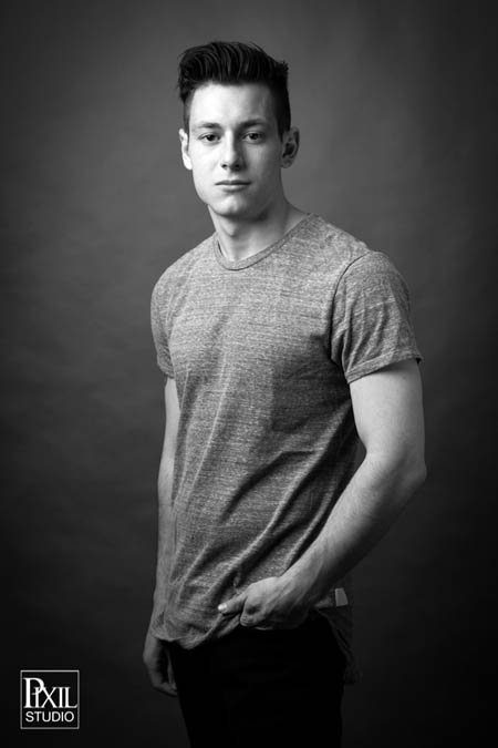 studio male model photography denver